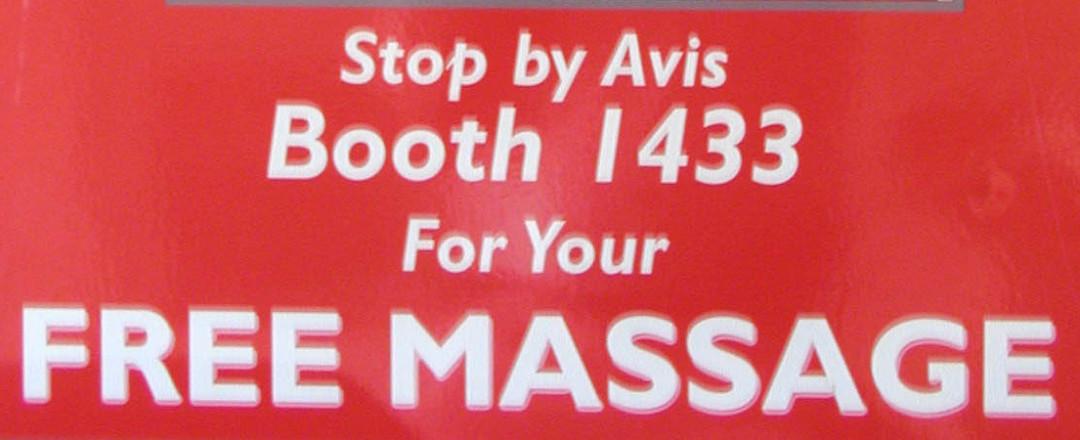 Free Trade Show Massage